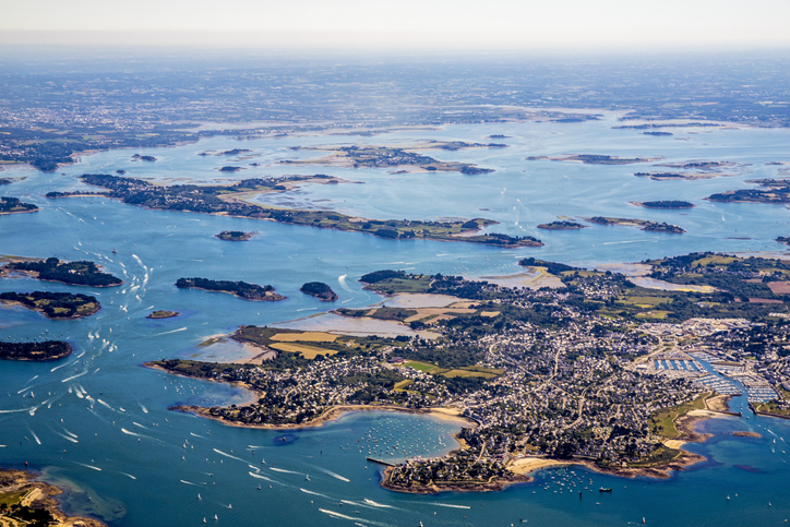 Morbihan gulf Lorient belle-ile and groix